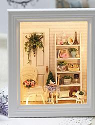 abordables -Maison de Poupées Créatif A Faire Soi-Même Meuble En bois Boutique 1 pcs Adolescent Jouet Cadeau