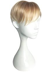 abordables -Homme Cheveux Synthétiques Postiches Droit Fabriqué à la machine Etui / Housse / nouveau / Nouvelle arrivee