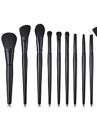 cheap -11pcs-makeup-brushes-professional-makeup-brush-set-nylon-fiber-eco-friendly-soft-wooden-bamboo