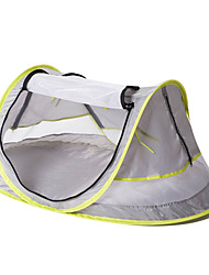 cheap -1 person Pop up tent Outdoor UV Resistant UPF50+ Anti-Mosquito Single Layered Camping Tent <1000 mm for Beach Camping / Hiking / Caving Net Fabric 108*65*50 cm
