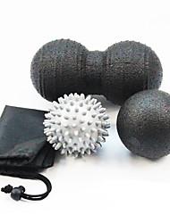 Недорогие -Мячик для тренировок и набор для лакросса 7,5 см 8 см Диаметр Полипропилен с пенным наполнителем Облегчает боль Массаж Йога Аэробика и фитнес Расслабляющее действие Для