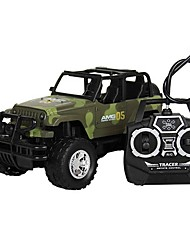 cheap -RC Car 4CH Truck 1:18 Brush Electric KM/H