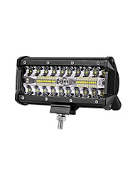 cheap -All-in-one Installation 6.48 Inches 200W 20000LM IP68 Waterproof EMC DC9-80V LED Work Light Bar