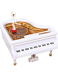 cheap -Music Box Ballerina Music Box Music Box Dancer Classic Romantic Piano Rotating Unique Plastic Women's Girls' Female Kid's Adults Kids Graduation Gifts Toy Gift