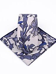 abordables -Unisexe Soirée / Travail Cravate Imprimé Feuille tropicale / costumes