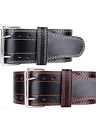 cheap -Weight Lifting Belt for Exercise & Fitness / Gym Adjustable / Protection / Comfortable Genuine Leather 1pc Black / White / Black / Red