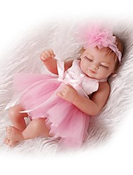 cheap -NPKCOLLECTION NPK DOLL Reborn Doll Girl Doll Baby Girl 12 inch Full Body Silicone Silicone Vinyl - lifelike Cute Child Safe Non Toxic Birthday Natural Skin Tone Kid's Girls' Toy Gift