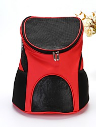 cheap -Dog Rabbits Cat Cages Carrier Bag & Travel Backpack Bed Portable Mini Camping & Hiking Pet Terylene Nylon Lolita Fashion Brown Black Red