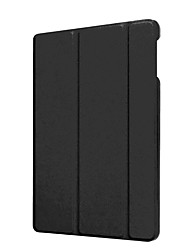 cheap -Case For Amazon Kindle Fire hd 8(6th Generation, 2016 Release) with Stand / Ultra-thin Full Body Cases Solid Colored Hard PU Leather