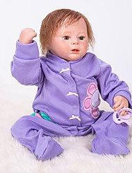 cheap -OtardDolls Reborn Doll Baby Boy 18 inch Silicone - Newborn lifelike Hand Made Child Safe Non Toxic Parent-Child Interaction Kid's Boys' / Girls' Toy Gift / Hand Applied Eyelashes