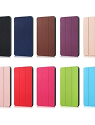 cheap -Case For Apple iPad Mini 5 / iPad New Air(2019) / iPad (2018) with Stand / Flip Full Body Cases Solid Colored Hard PU Leather / iPad (2017)