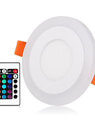 cheap -ZDM® 1 set 3 W 30 LED Beads Remote Control / RC Dimmable Easy Install LED Panel Lights LED Downlights RGB+Warm RGB+White 85-265 V Ceiling Commercial Stage / RoHS / CE Certified / 80