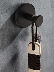 cheap -Robe Hook  Design Country Stainless Steel / Iron Bathroom