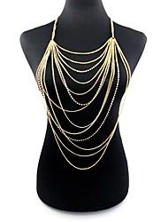 cheap -Body Chain Ladies Oversized Women's Body Jewelry For Bikini Alloy Dream Catcher Gold