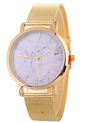 cheap -Xu™ Women's Marble Dress Watch Wrist Watch Quartz Black / Silver / Gold Creative Casual Watch Large Dial Analog Ladies Fashion Elegant - Black Silver Rose Gold One Year Battery Life