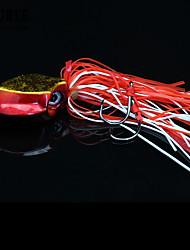 cheap -1 pcs Jigs Fishing Lures Buzzbait & Spinnerbait Lures Hard Bait Jig Head Sinking Bass Trout Pike Sea Fishing Fly Fishing Bait Casting Lead Metalic / Ice Fishing / Spinning / Jigging Fishing