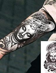 cheap -3 pcs Tattoo Stickers Temporary Tattoos Totem Series Body Arts Brachium