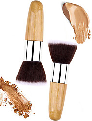 cheap -2pcs-makeup-brushes-professional-powder-brush-nylon-synthetic-hair-eco-friendly-professional-wooden-metal-middle-brush