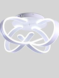 cheap -56 cm 4-Light Sputnik / Novelty Flush Mount Ambient Light Painted Finishes Aluminum Aluminum Matte, Eye Protection, New Design 110-120V / 220-240V Warm White / Cold White Bulb Included / LED Integrate