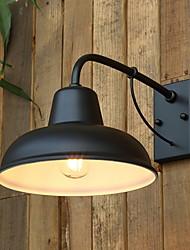 Недорогие -Cool Ретро Настенные светильники На открытом воздухе / Сад Металл настенный светильник 220-240Вольт 40 W