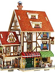 cheap -Jigsaw Puzzle House / 3D Lovely / Parent-Child Interaction All Gift