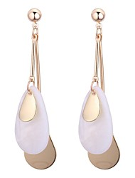 cheap -Women's Drop Earrings Ladies Vintage Fashion Earrings Jewelry White For Daily Office & Career 1 Pair