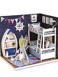 abordables -Maison de Poupées Créatif A Faire Soi-Même Exquis Mini Meuble En bois Enfant Fille Jouet Cadeau