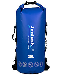 Недорогие -Sealock 30 L Водонепроницаемый сухой мешок Водонепроницаемая молния Пригодно для носки для Плавание Дайвинг Серфинг