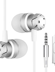 cheap -JTX J01 Wired In-ear Earphone Wire Null with Microphone Comfy Mobile Phone