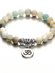 cheap -Women's Bead Bracelet Ladies Stylish Ancient Egypt Stone Bracelet Jewelry Rainbow For Daily Formal