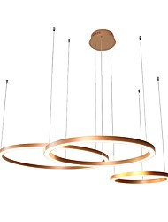 cheap -1-Light UMEI™ 80 cm Creative / Adjustable / New Design Chandelier Aluminum Acrylic Circle Anodized Artistic / Chic & Modern 110-120V / 220-240V