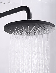 cheap -Shower Faucet - Contemporary Painted Finishes Wall Installation Ceramic Valve Bath Shower Mixer Taps / Brass / Single Handle Two Holes