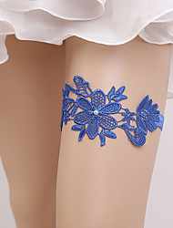 cheap -Lace Classic Jewelry / Vintage Style Wedding Garter With Gore Garters Wedding / Party & Evening