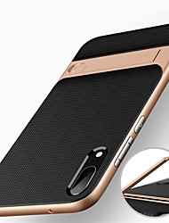cheap -Phone Case For Huawei Back Cover Huawei P20 Huawei P20 Pro Huawei P20 lite Shockproof with Stand Armor Armor Hard PC