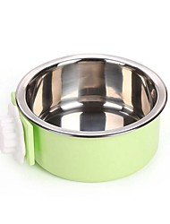 cheap -2 L Dogs / Rabbits / Furry Small Pets Bowls & Water Bottles / Feeders / Food Storage Pet Bowls & Feeding Portable / Case Included Green / Blue / Pink