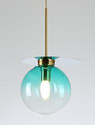 cheap -ZHISHU Geometric / Mini / Novelty Pendant Light Ambient Light Painted Finishes Metal Glass Creative, New Design 110-120V / 220-240V Bulb Included