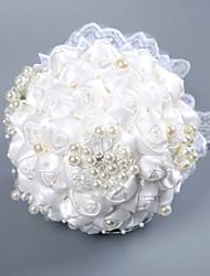 Недорогие -Свадебные цветы Букеты Свадьба / Свадебные прием Кружево / пена 11-20 cm