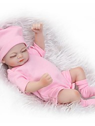 cheap -NPKCOLLECTION NPK DOLL Reborn Doll Girl Doll Baby Baby Girl 12 inch Full Body Silicone Silicone - Newborn lifelike Cute Child Safe Small Size Non Toxic Kid's Girls' Toy Gift
