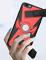 cheap -Case For Apple iPhone X / iPhone 8 Plus / iPhone 8 Ring Holder / Game case Back Cover Solid Colored Hard PC