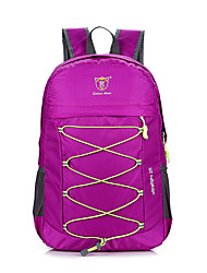 cheap -25 L Hiking Backpack Breathable Rain Waterproof Wear Resistance Outdoor Hiking Cycling / Bike Camping Nylon Black Navy Fuchsia / Yes
