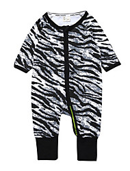 cheap -Baby Boys' Active Print Long Sleeve Romper Black