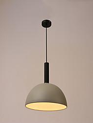 cheap -1-Light 38 cm Matte Pendant Light Metal Painted Finishes Artistic / Modern 220V