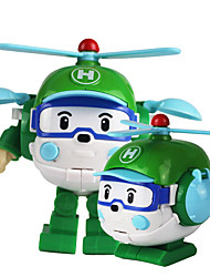 cheap -Toy Car Helicopter Transformable Plastic Shell All Boys' Girls' 1 pcs