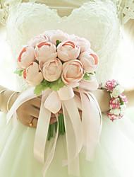 Недорогие -Свадебные цветы Букеты / Лепестки Свадьба / Свадебные прием Satin / Ткань 11-20 cm