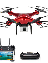 cheap -RC Drone DM106S BNF 4CH 6 Axis 2.4G With HD Camera 0.3MP 480P RC Quadcopter One Key To Auto-Return / Headless Mode / Access Real-Time Footage RC Quadcopter / Camera / 1 USB Cable Lead