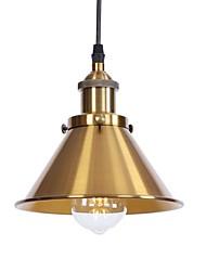 cheap -1-Light 18.5 cm Anti-Glare / Eye Protection / New Design Pendant Light Metal Electroplated Retro Vintage / Country 110-120V / 220-240V