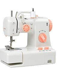 Недорогие -бытовая швейная машина. многофункциональная домашняя двухпроводная двухскоростная электрическая швейная машина, обратная стежка, педаль, маленькая, настольная лампа, касательная