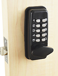 cheap -Intelligent Lock Smart Home Security System Home Office Hotel Apartment Composite Door Wooden Door Security Doo Password Lock