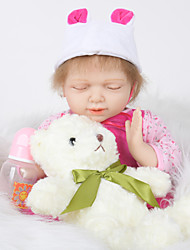 cheap -FeelWind Reborn Doll Girl Doll Baby Girl 20 inch Full Body Silicone - Newborn lifelike Hand Made Child Safe Non Toxic Parent-Child Interaction Kid's Girls' Toy Gift