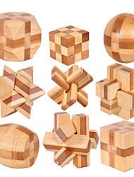 abordables -Cadenas Créatif / Balle Focus Toy Bois / Bambou 1 pcs Adultes Tous Cadeau